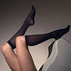 1023 40 denier luxury knee highs