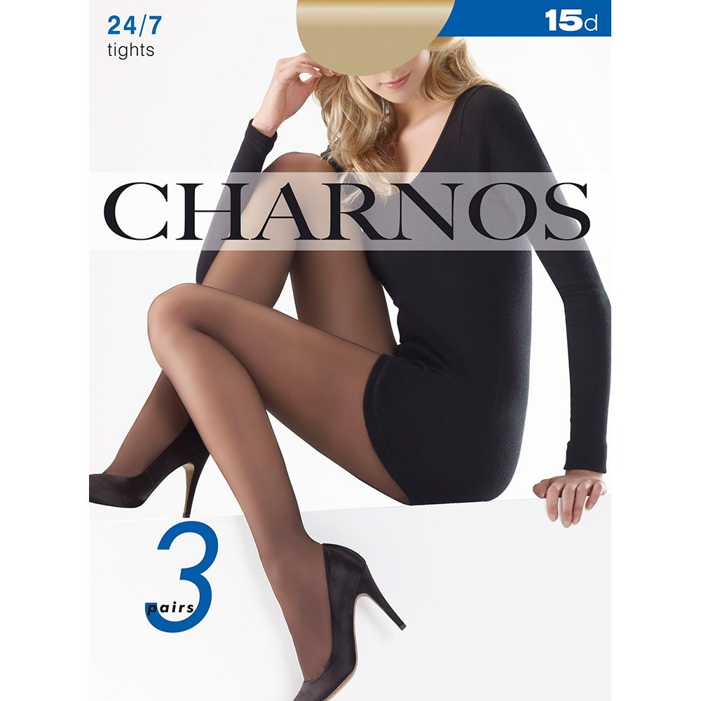 Charnos 24/7 sheer pantyhose - 3 pair pack