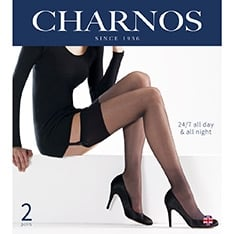 24/7 stockings - 2 pair pack