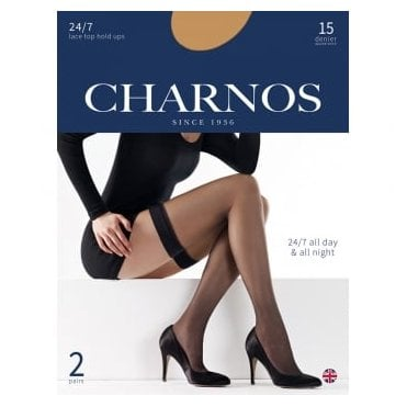 Charnos 24/7 thigh highs - 2 pair pack