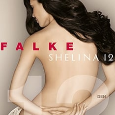 40027 Shelina 12 denier transparent shimmer pantyhose - new sizing