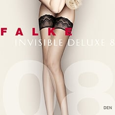 41560 Invisible Deluxe 8 denier ultra-transparent thigh highs