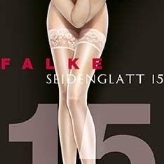 41583 Seidenglatt 15 denier transparent shining hold-ups