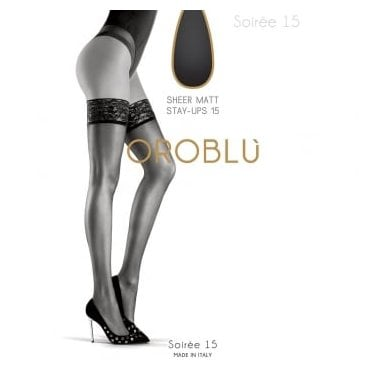Oroblu Bas Soiree 15 sheer thigh highs