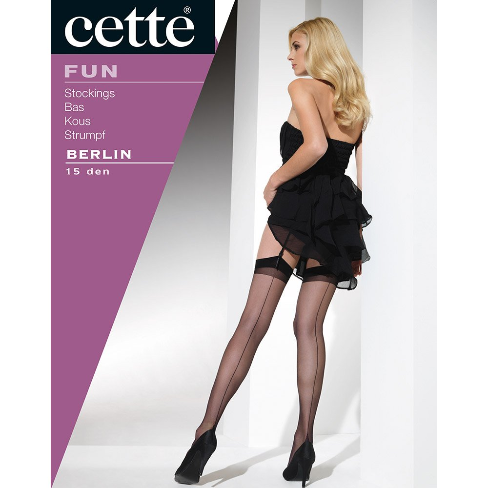 Cette Berlin point heel seamed stockings