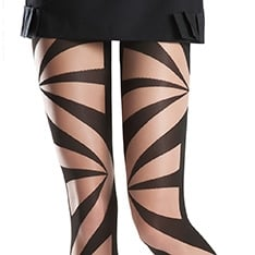 Brooke geometric pantyhose  - SAVE 40%!