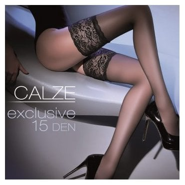 Gabriella Calze Exclusive deep lace thigh highs