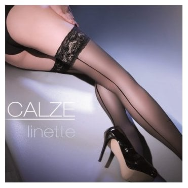 Gabriella Calze Linette seamed thigh highs