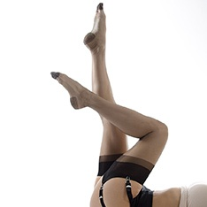 Capri 7 non-stretch RHT stockings