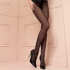 Christine 30 denier double-covered support pantyhose