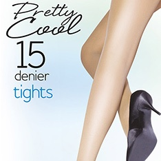 Classic Pretty Cool traditional pantyhose with open gusset