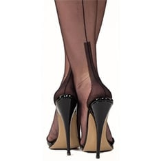cuban heel fully fashioned stockings