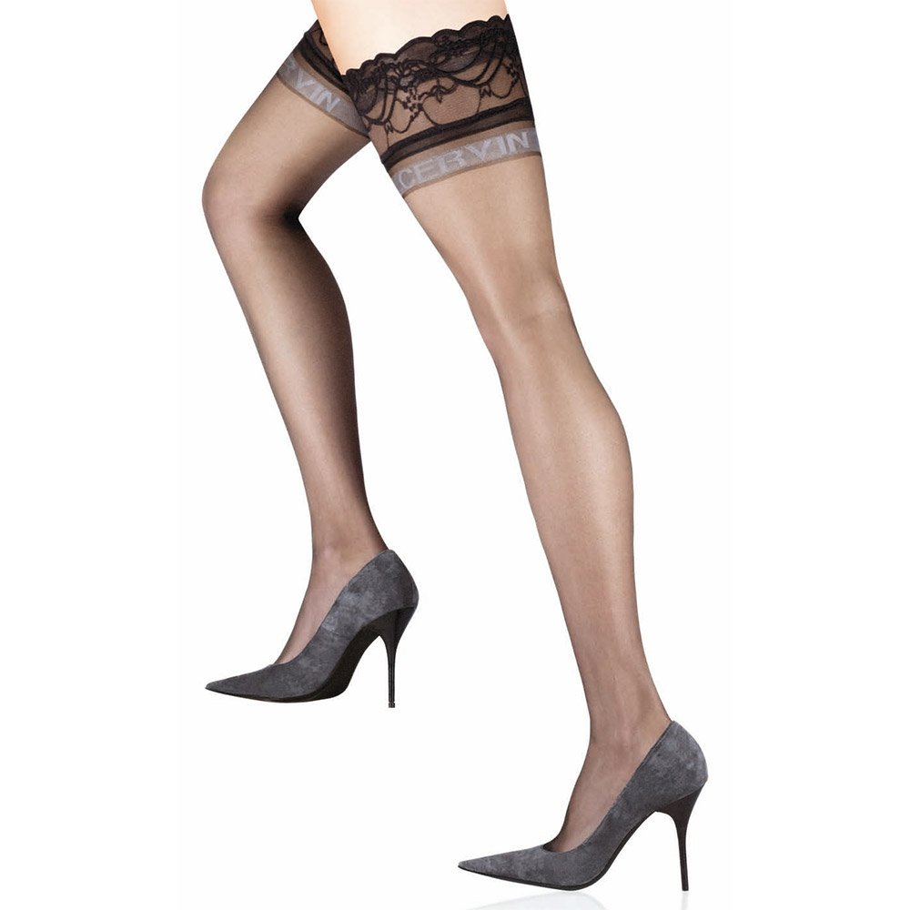 Fiore GLAM 20 Denier Stockings Thigh High Hold Up Nylons FREE SHIP