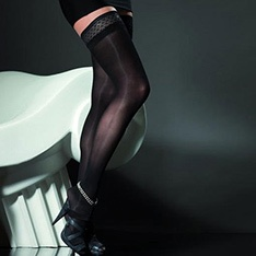 Elite Ester 40 denier thigh highs
