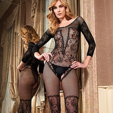 Euripide fishnet bodystocking