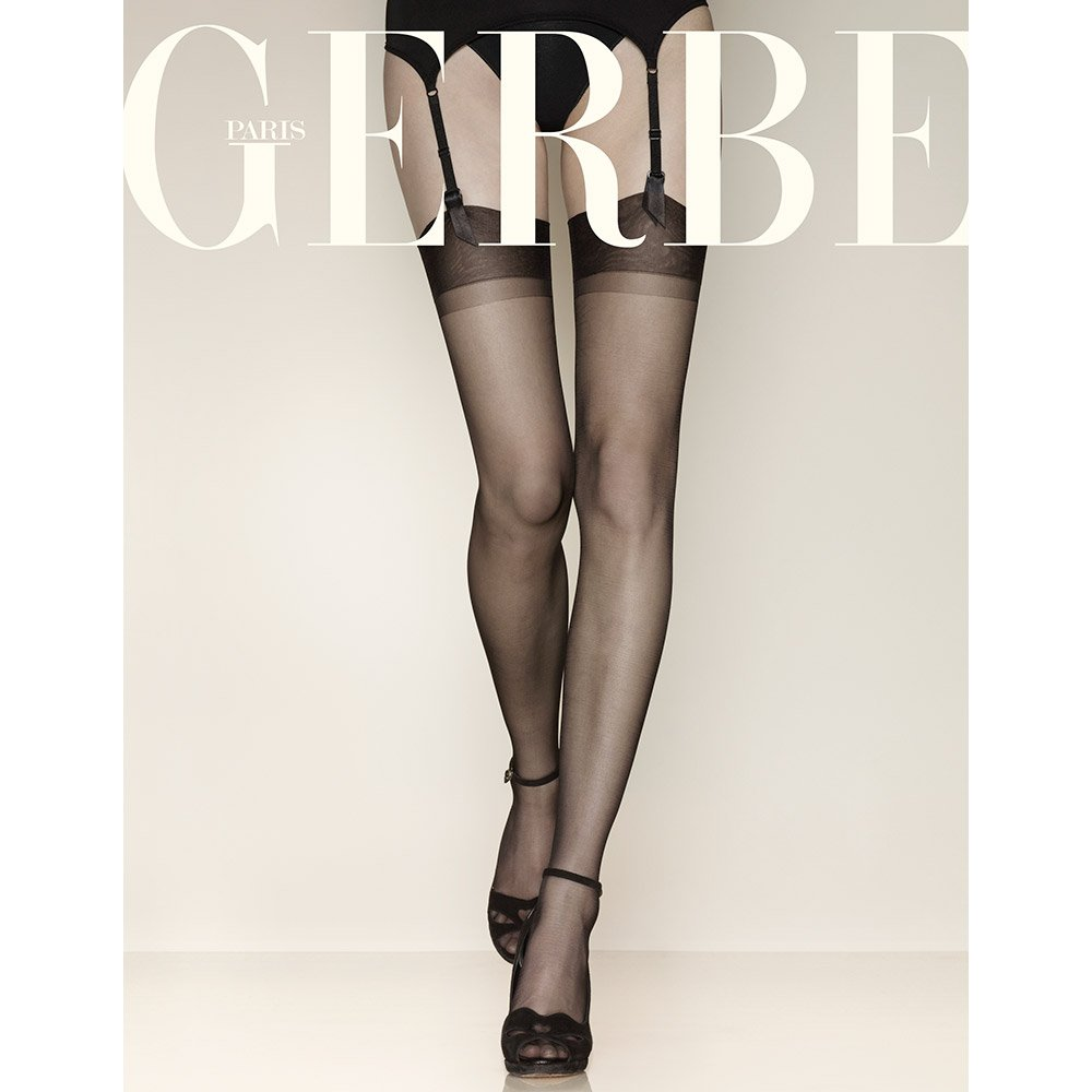 Gerbe Gerlon 15 reinforced heel and toe (RHT) stockings