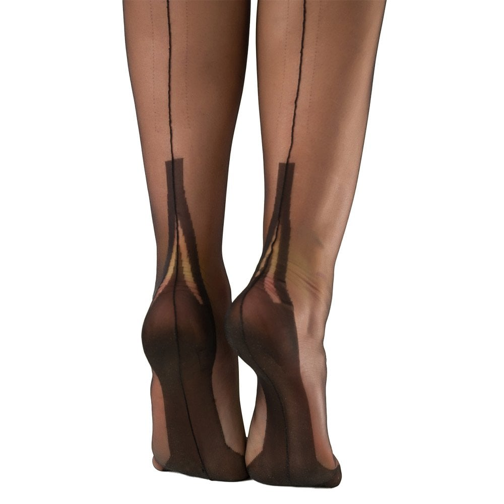 BABY BLUE NYLONZ Imperfects Gio Fully Fashioned Stockings