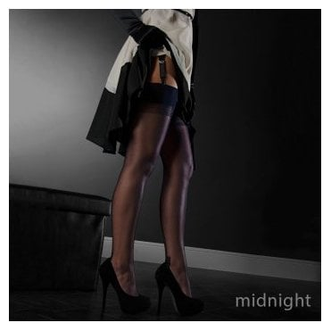 Eleganti Havana heel FF stockings - PLAIN COLOR - SECONDS