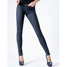Leggy Jeans model 4 cut-and-sewn leggings - Special Offer