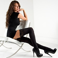 Linea Classica Opaque 70 thigh highs