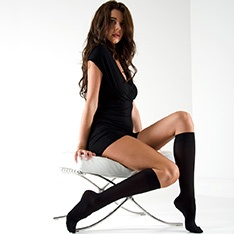 Linea Classica Opaque Comfort 40 knee-highs