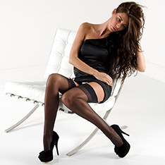 Linea Classica Sheer 15 stockings - classic colors