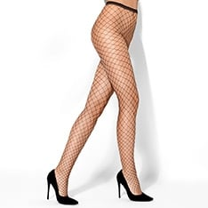 Marella big fishnet pantyhose
