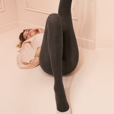 Melani cotton opaque tights