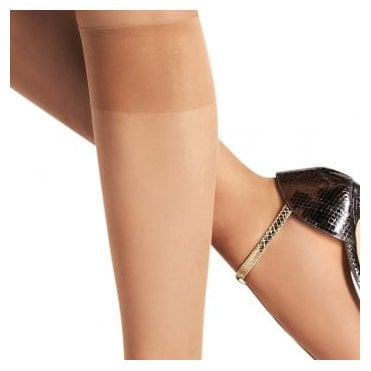 Le Bourget Mi Bas Invisible sheer toe knee highs