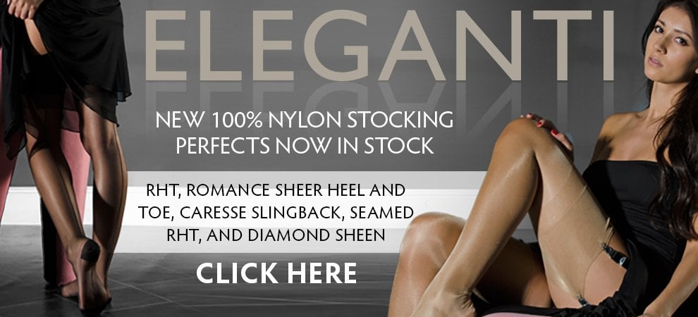 Eleganti 100% nylon perfects now in stock