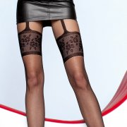 Fiore Muriel mock suspender pantyhose - END OF LINE - SAVE 34%