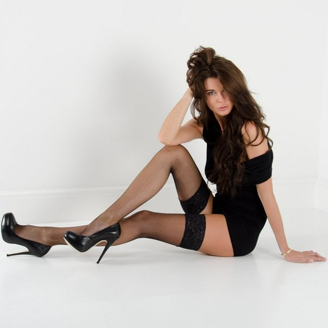 Nylonica Linea Sensuale net thigh highs