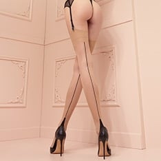 Pennac seamed stockings
