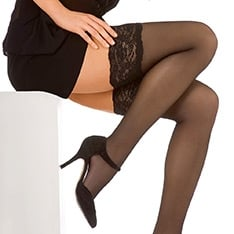 Perfect Chic 20 luxury lace top thigh highs