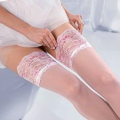 Princessa Calze 04 lace top thigh highs