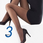 24/7 sheer pantyhose - 3 pair pack