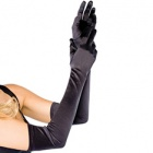 Avenue 16B extra long stretch satin gloves