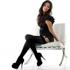 Linea Lusso microfibre 55 opaque stockings - classic colors