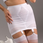 1365 6-strap plain open bottom girdle