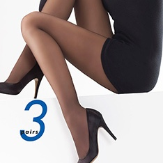 Charnos 24-7 sheer tights - 3 pair pack