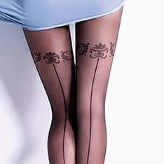 Safina 20 model 5 backseam pantyhose