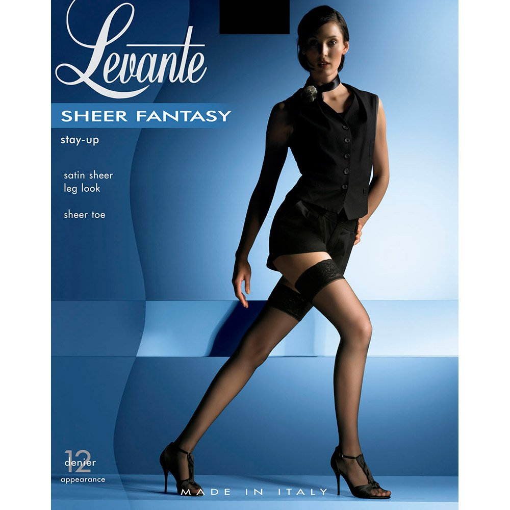 Levante Sheer Fantasy lace top 12 denier thigh highs