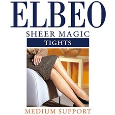 Sheer Magic factor 8 medium support pantyhose