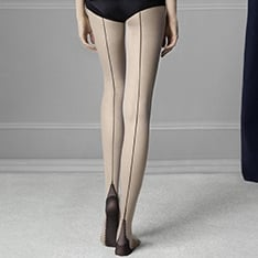 Sin backseam pantyhose