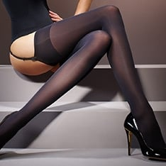 Suede Matte opaque stockings