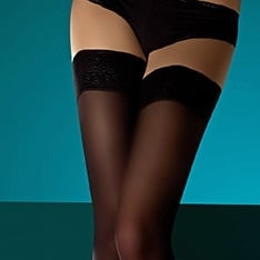 suede matte opaque thigh highs