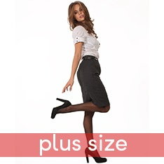 Super Shine XL plus size pantyhose