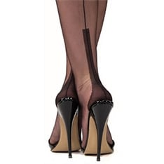 Susan heel fully fashioned stockings - SECONDS