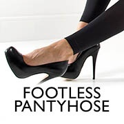 Footless tights and leggings