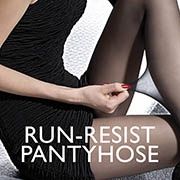 Run-resist pantyhose